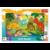 Książka ePub Puzzle 15 Ramkowe Dinozaury 31359 - brak