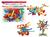 Książka ePub Klocki małych geniuszy złączki 44 elementy 102214 - brak
