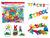 Książka ePub Klocki małych geniuszy alfabet 140 elementów 106212 - brak