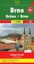 Książka ePub Brno, 1:16 000 - brak