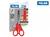 Książka ePub Nożyczki Milan szkolne 14,7 cm z nakładką i miarką na blistrze 1 sztuka - brak
