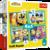 Książka ePub Puzzle 4w1 (35,48,54,70) Wesoły świat minionków 34339 - brak