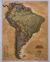 Książka ePub Ameryka Południowa Executive mapa ścienna polityczna arkusz papierowy 1:11 121 000 - brak