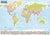 Książka ePub Świat mapa ścienna polityczna i krajobrazowa arkusz laminowany, 1:21 500 000 - brak