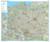 Książka ePub Polska drogowa mapa ścienna - naklejka 1:700 000 - brak