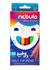Książka ePub Flamastry Nebulo Jumbo trójkątne zestaw 12 kolorów - brak