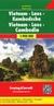 Książka ePub Wietnam, Laos, Kambodża, 1:900 000 - brak