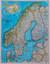 Książka ePub Skandynawia Classic mapa ścienna polityczna arkusz laminowany 1:2 765 000 - brak